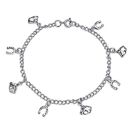 Bonne Chance Bracelet Multi Chevaux Fer À Cheval Pour Cadeau