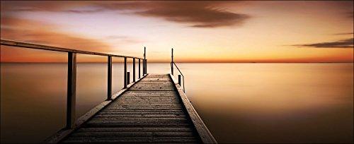PRO-Art gla726o - Quadro da Parete su Vetro \Golden Sunset\