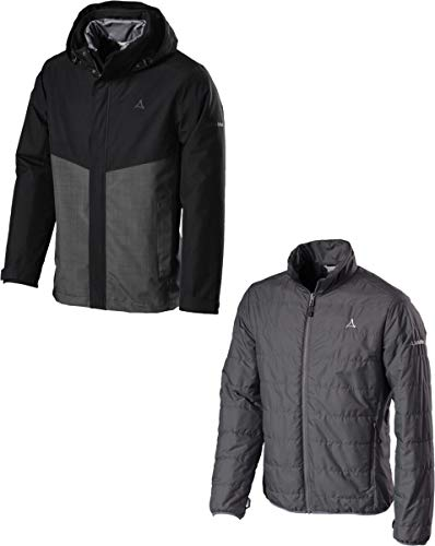 Schöffel 3IN1 Jacket BEAVERTON2 Black - 52