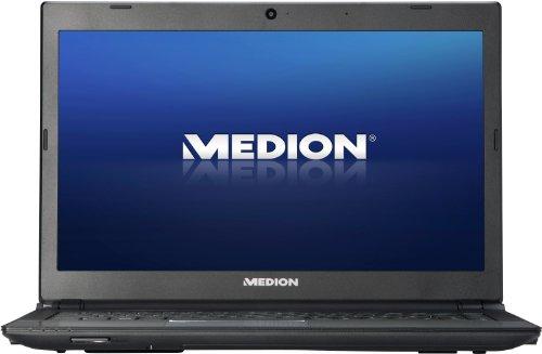 Medion Akoya S4215 35,6 cm (14 Zoll) Ultrabook (Intel Core i5-3317U, 1,7GHz, 8GB RAM, 750GB HDD, 32GB mSATA SSD, Intel HD, DVD, Win 8) schwarz/silber