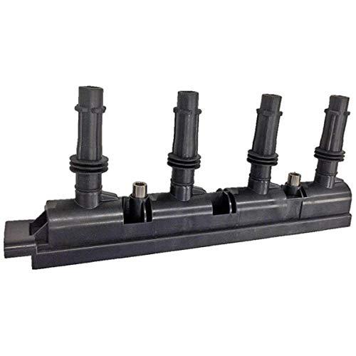 HELLA 5DA 358 000-341 Zündspule - 12V - 7-polig - Blockzündspule - geschraubt