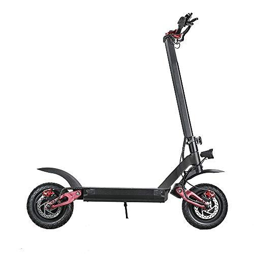 WH-IOE - Patinete eléctrico plegable con doble motor, 60 V, 20,8 Ah, 3600 W, 70 km/h, velocidad máxima carga máxima 150 kg, scooter eléctrico de 11 pulgadas