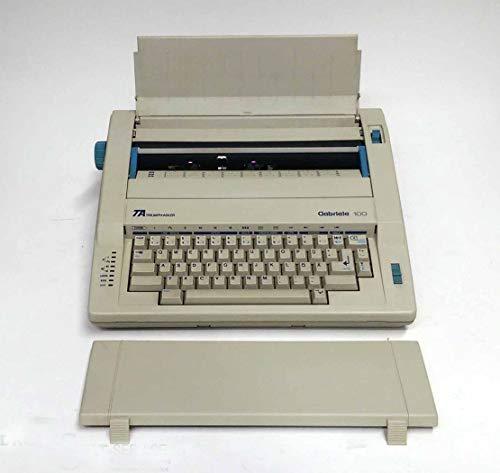 TRIUMPH-ADLER elektronische Schreibmaschine Gabriele 100