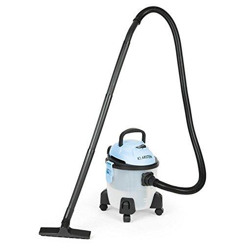 Klarstein Reinraum Hydro - Teppichreiniger, Nasssauger mit Wasserfilter, Power Edition, starke 1400 Watt Saugleistung, großer Wassertank 15 Liter, optionale Zugabe von Duft-Öl, schwarz-blau