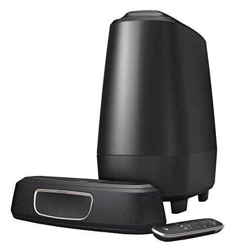 Polk Audio MagniFi Mini - Barra de Sonido y Subwoofer Inalámbrico, con Asistente de Google, Bluetooth, color Negro