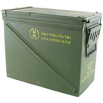 Large Military Ammo Box Watertight Camping Storage
