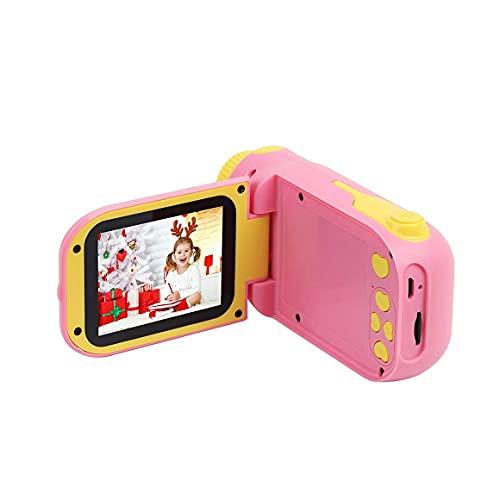 KoelrMsd Cámara de Video para niños Reproductores de DVD Digitales Cámara para niños Videocámara para niñas Juguetes Mini DV Juguete Educativo niños