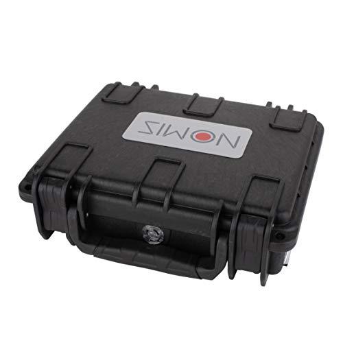 Nomis universeller Koffer für Pistolen/Festplatten oder anderes - IP67 (Außenmaße: 19 * 17 * 6cm) (Innenmaße 17 * 13,4 * 4,4cm)