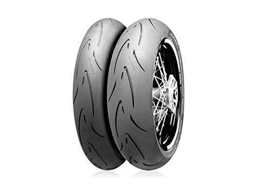 ウインズジャパン〔WINS JAPAN〕〔Continental Motorcycle Tyres〕ContiAttack SuperMoto 120/70 R 17 M/C 58H TL 409