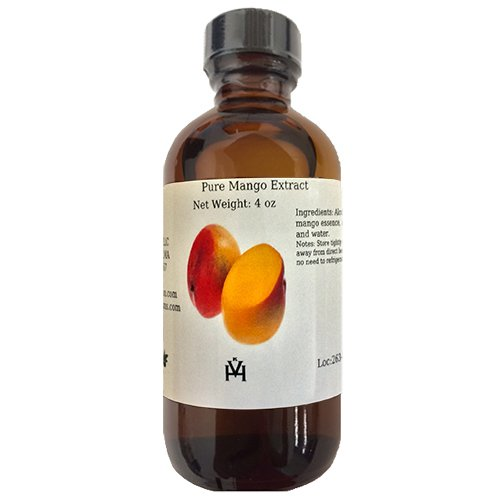 OliveNation Pure Mango Extract - 16 ounces - Premium Quality Flavoring Extract for Baking