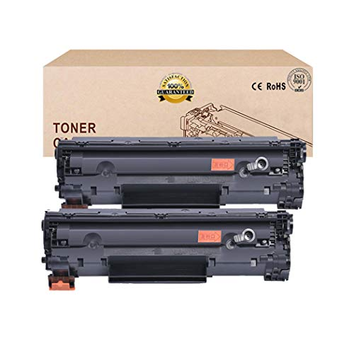 Compatibel Toner Cartridges alternatief voor HP 85A CE285A Toner Cartridge (2 Pack) voor HP LASERJET P1100 P1102 P1102W M1130 1210MFP M1217NFW M1132 Toner Zwart