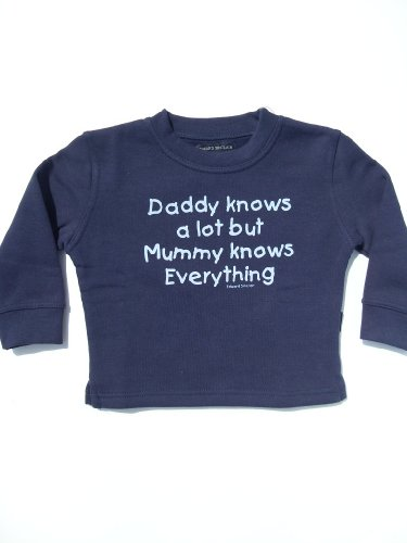 La transpiration Marine 'Daddy pense qu'il sait Beaucoup mais Maman sait tout'