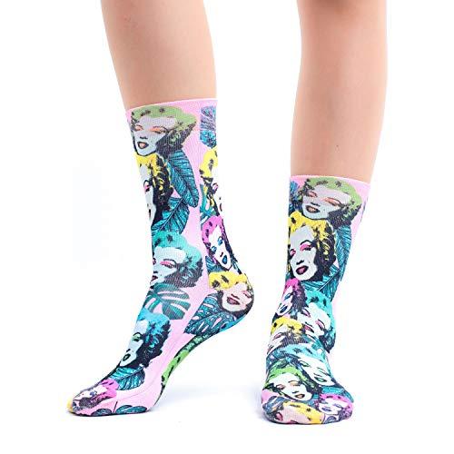 Wigglesteps Damen Socken 'Marilyn-P', one Size (36-40)