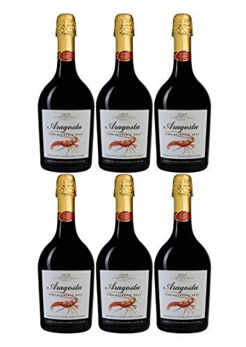 Santa Maria La Palma Aragosta Vino Spumante Brut (6er Vorratspaket)