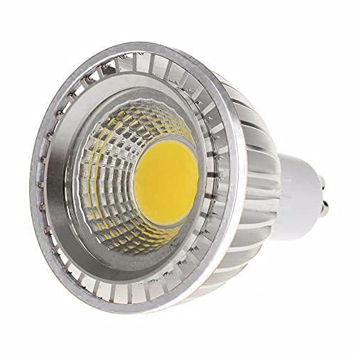 YSSMAO LED COB PAR20 Bulb 220V 110V Dimmable GU10 15W Bombilla LED P20 Focos Lámparas,Plata,Warm White