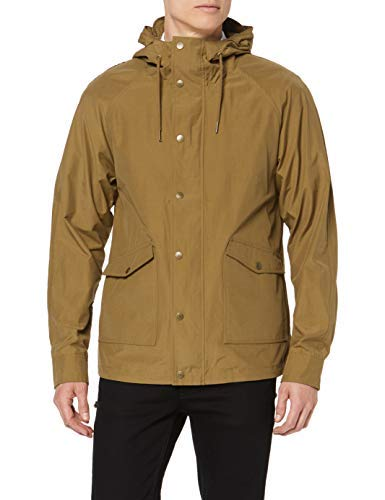 Scalpers New Ben Jacket Chaqueta, Marrón (Camel 18084), Small (Tamaño del Fabricante:S) para Hombre