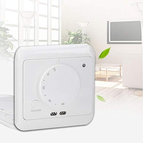 Fácil de instalar y usar, refrigeración doméstica y termostato para la casa.