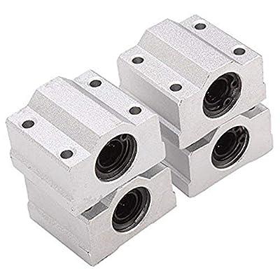 FurigaLinear Motion Ball Bearing CNC Slider SCS10UUBushing 10mm Inner Diameter 4PCS