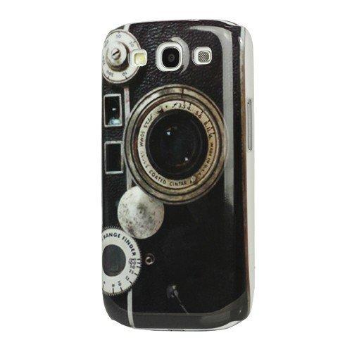 Hard Case / Cover caméra Samsung Galaxy S3 / LTE i9300 avec l'objectif Range Finder étui de protection couverture arrière de Shell Vintage