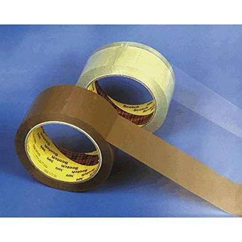 Scotch 309T5066 Verpakkingstapes Pvc, Ppl en papier Verpakkingstape 50 mm x 66 m transparant