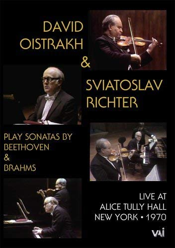 Beethoven: Violin Sonata No. 6, Op. 30:1 / Brahms: Violin Sonata No. 3, Op. 108 (Live - Alice Tully Hall, March 18, 1970) by Video Artists Int'L