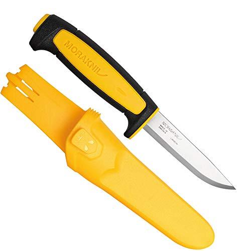 Morakniv Basic 511 Outdoormesser 2020 Limited Edition mit Carbonstahlklinge und Köcherscheide mit Gürtelclip