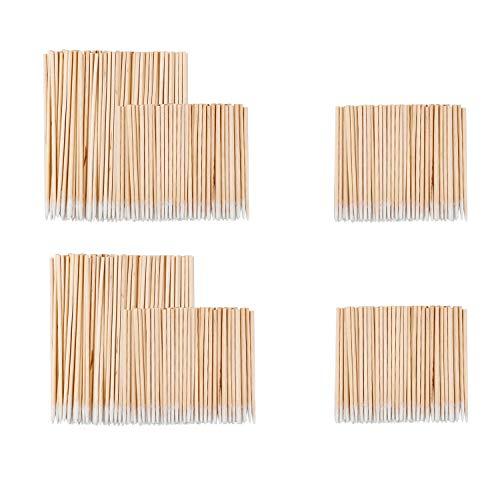 GODLOVEM 600 piezas de algodón fino para cejas