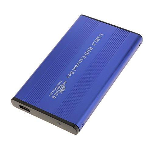B Blesiya USB2.0 IDE 2.5'SSD HDD Caja de Disco Duro Caja de Disco para Computadora Portátil Plug and Playe