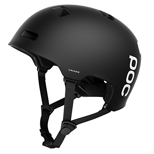 POC Crane Casco, Unisex Adulto, Negro (Matt Black), XL-XXL