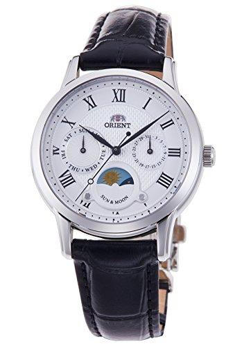 ORIENT Classical Sun & Moon Quartz Wristwatch RN-KA0003S Women's