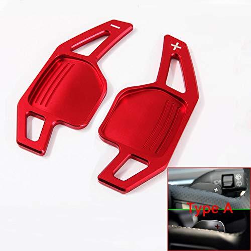 YKANZS Volante per Auto DSG Shift Paddle Extension, per Audi TT TTS MK2 8J A5 S5 Coupe A4 B8 A3 8P S3 Q5 A8 R8 Sportback Quattro Sline