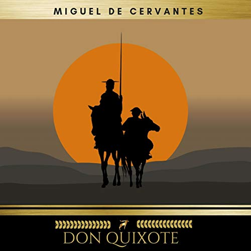 Don Quixote 1 audiobook cover art
