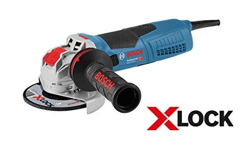 petit un compact Meuleuse d'angle Bosch Professional 06017C8002 GWX 19-125 S (1900 W, pour accessoires X-LOCK,…