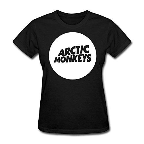 Women's T-Shirt Arctic Monkey Mainstream Shirt M Black