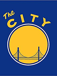 NBA Golden State Warriors THE CITY Licensed Twin Silk Touch Blanket Throw