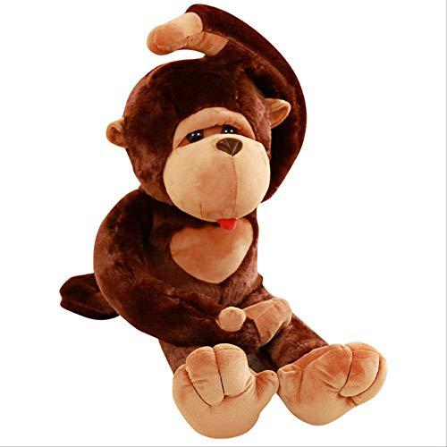 qwermz Peluches, Big Mouth Monkey Plush Toy The Gorilla Plush Doll Almohada De Peluche para Niños Apacigua El Juguete 130cm