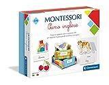 Clementoni 16322, Montessori, Primo Inglese, Made in Italy, 3 anni, Gioco Educativo per Im...