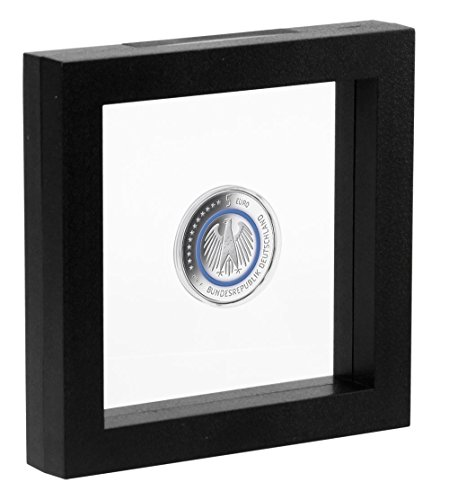 SAFE 3D Floating Frame for Jewellery, Coins, Medals, Medallions 130 x 130mm