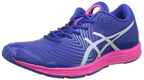 Asics Gel-Hyper Tri 3, Zapatillas de Entrenamiento para Mujer, Azul (Blue Purple/White/Hot Pink), 39 EU