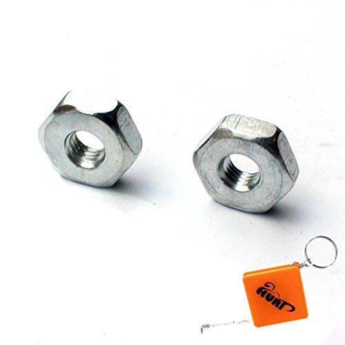 HURI 2 Stück Mutter Kettenraddeckel passend für STIHL Schwertmutter 021 023 025 MS210 MS230 MS250 MS C