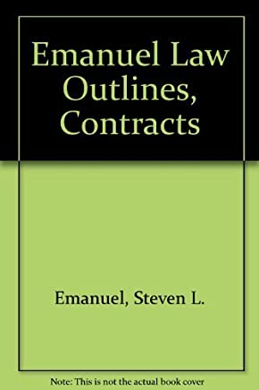 Emanuel Law Outlines, Contracts