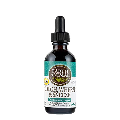 EARTH ANIMAL Organic Herbal Remedies (Cough  Wheeze & Sneeze  2 oz)