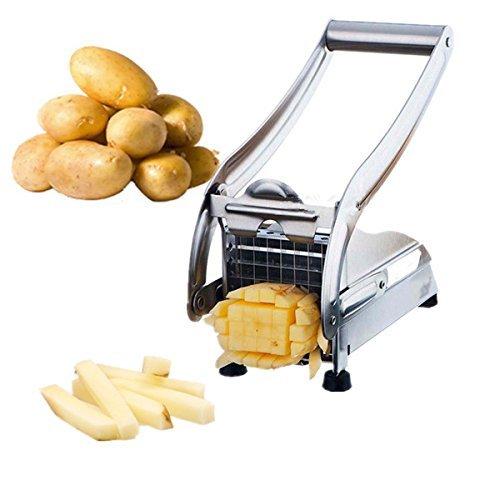 Acero inoxidable francés casa freír patatas fritas Chips de patata banda de...
