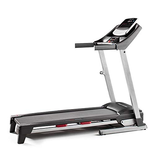ProForm Fit 425 iFit Folding 10 MPH Incline Running Exercise Treadmill for Homes and Gyms with HD...