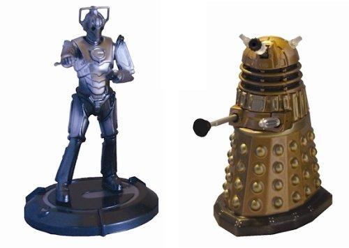 Dalek und Cybermen Mini Diecast-Pack