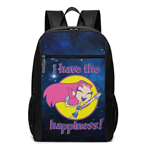 XCNGG Cherry Anderson Funny Fashion Adult Te-En Ti-Tans Go! Print Computer Backpacks 17in
