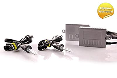 DDM Tuning Plus Premium 35W Xenon HID Kit, Lifetime Warranty, All Bulb Types and Colors