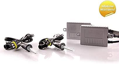 DDM Tuning Plus 35W Premium HID kit, Slim AC Ballasts w/Hi-Output Bulbs, H1, 5500K