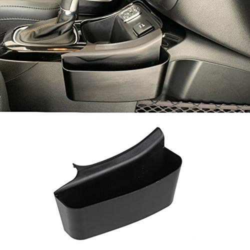 Atrumly Caja de almacenamiento lateral para consola central de coche, bandeja organizadora para Jeep Compass 2017 – 2019, consola central de coche, guantera, secundario, accesorios de coche