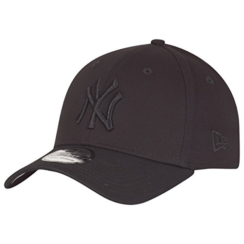 New Era New York Yankees - Flexfit Cap - Classic 39 Thirty - Black/Black - L-XL (7 1/8-7 5/8)